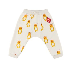 Multi bear baby straight jersey pants
