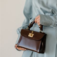 [ 프라테시 ] Hera box bag brown