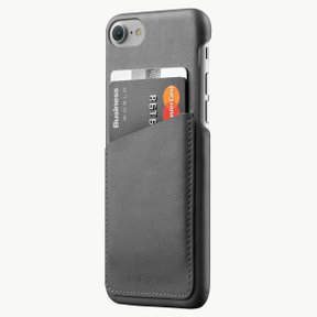 Leather Wallet Case for iPhone 8/7 GRAY