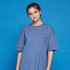 ANOTHER FRAME - ANOTHER DAY POCKET T-SHIRT (PASTEL BLUE) 반팔티