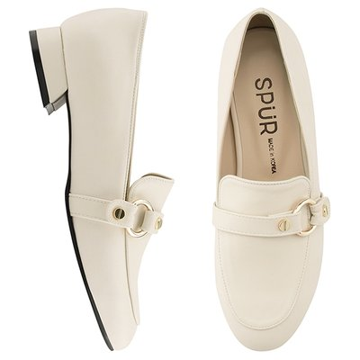 로퍼 OS7048 Ring belt loafer 아이보리