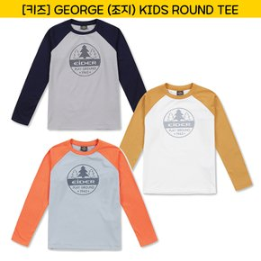 [17FW 키즈] GEORGE (조지) KIDS ROUND TEE / JMU17283 (3COLOR)