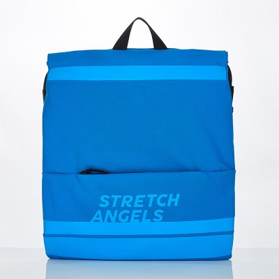 스트레치엔젤스[M.E.S.H] Zipper pocket string easy-bag (Blue)