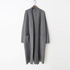 Wool N Cashmere Long Cardigan