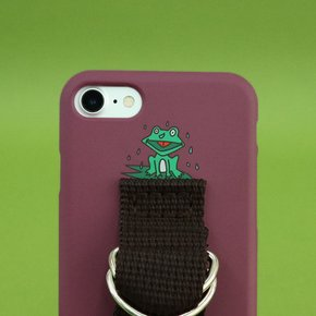 SUN CASE CRUSH BERRY BROWN (ILLUST)