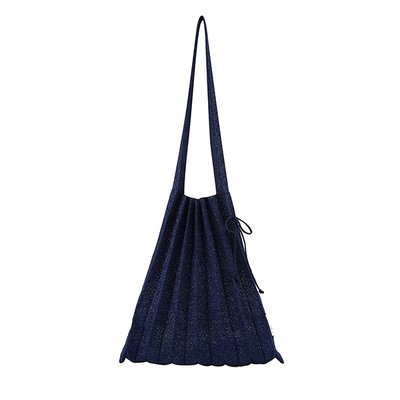 [조셉앤스테이시] Lucky Pleats Knit M Starry Navy