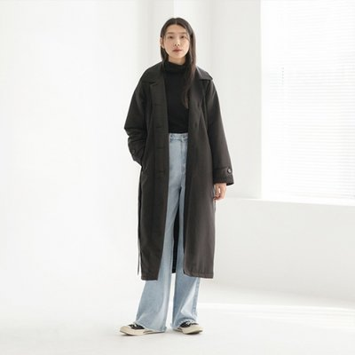 Formal Padding Coat - Black