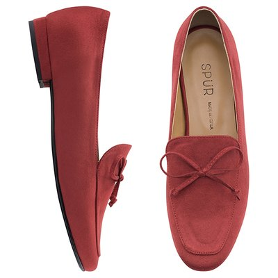 로퍼 OF7009 Classic bow loafer 레드