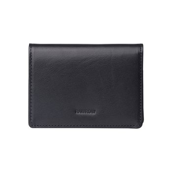 로우로우 FOLDING WALLET 303 LEATHER BLACK