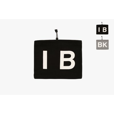 [50% SALE] IB BK logo neck warmer