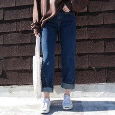 Boy fit denim pants