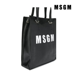 [MSGM] 트래드후스 MSGM 020274 BORSA ECO PELLE LEATHER BAG BLACK