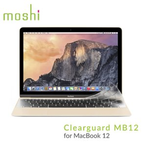 moshi 맥북 12` Clearguard 키스킨