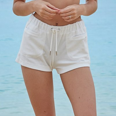 TERRY SHORTS_OFF WHITE