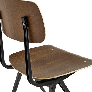 [주문 후 3개월 소요] RESULT CHAIR SMOKED OAK/BLACK FRAME