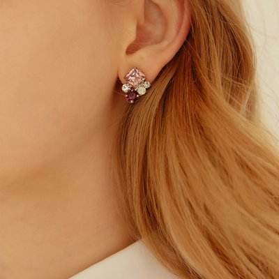 Violet berry Earring