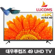 49형 UHD LED TV LUCOMS T4900CU_벽걸이설치