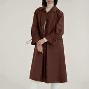 [30%할인적용가]A- trench coat (brown)