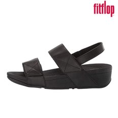 미나 여성용 샌들 블랙 FITFLOP MINA BACK STRAP BLACK X11-090
