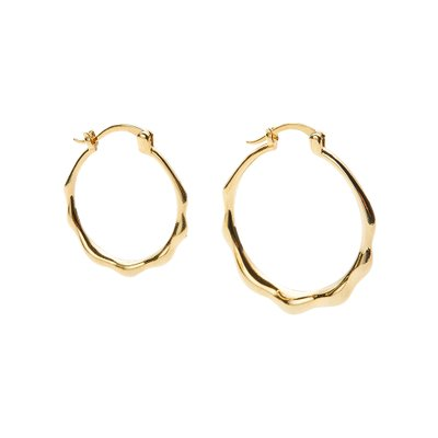 [레이브]Unbalance Ring Earrings in Gold VX0SX0530