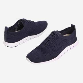[COLE HAAN] WFW ZEROGRAND STITCH LITE OX MARINE BLUE KNIT/LEATHER/OPTIC WHITE [WIDTH:B] CHSO7E114N2