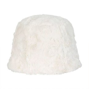 [써틴먼스] [예약배송 1/26] FAUX FUR BUCKET HAT (WHITE) (5994001)
