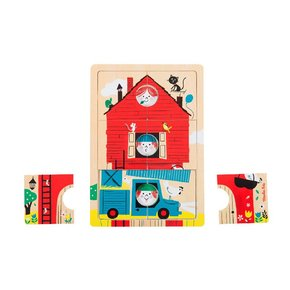 3단원목퍼즐 Les Bambins puzzle 3level
