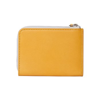 로우로우 ZIP WALLET 304 LEATHER MUSTARD
