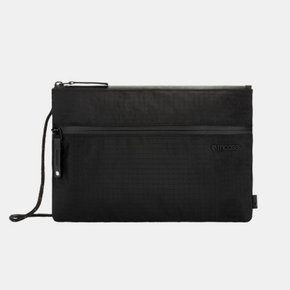 Shoulder Pouch in Nylon Ripstop - Black