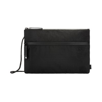 Shoulder Pouch in Nylon Ripstop - Black (방수 크로스백)