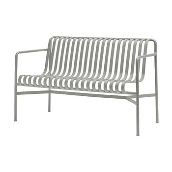[주문 후 3개월 소요] Palissade Dining Bench Sky Grey