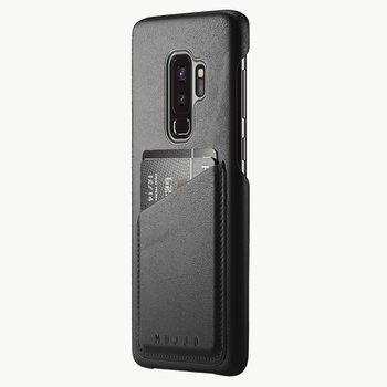 Full Leather Wallet Case for Galaxy S9+ BLACK