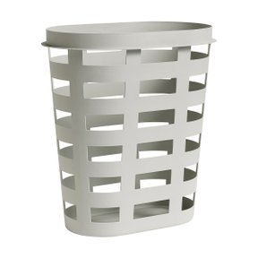 LAUNDRY BASKET L LIGHT GREY