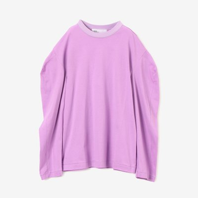 TOGA 토가 SILKET JERSEY LONG SLEEVES PURPLE TA92-JK116-E
