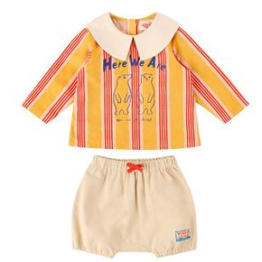 Bobak baby stripe blouse set / BP8314184