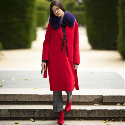 [30%할인적용가]LAUREN HANDMADE CASH COAT [RED]