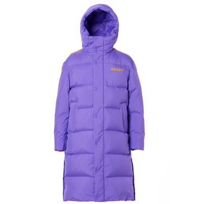 NY Track Long Down Jacket Purple (21055_PUR)