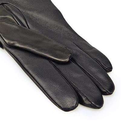 [어그] COMBO SHEEPSKIN TRIM GLOVE_BLACK