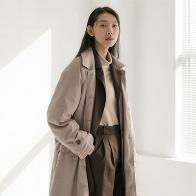Formal Padding Coat - Beige
