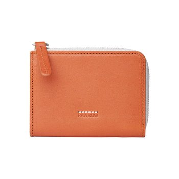 로우로우 ZIP WALLET 304 LEATHER BRICK