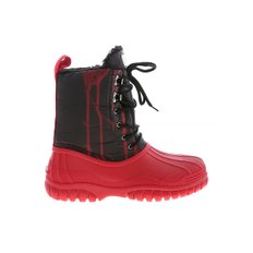 Red ankle boots with black leg (FW20M010001 03)
