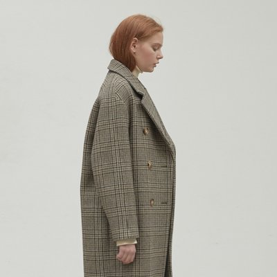 [12월17일 예약발송]N basic cocoon coat [BE]