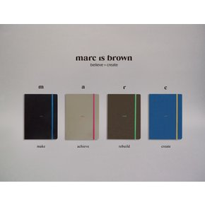 마크이즈브라운(marc is brown)- gift set