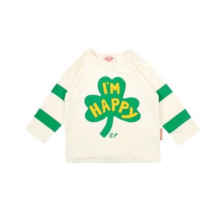 Clover baby stripe long sleeve tee