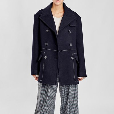 / favorite stitched peacoat