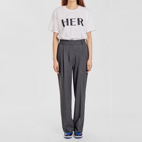 / [her] 1/2 sleeve tee(1 colors)