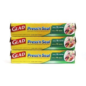 GLAD Press N Seal Food Wrap(일반) 3입세트