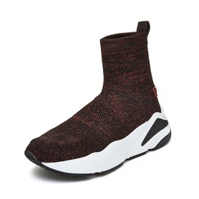 [파주점] Metallic knit sneakers(wine) DG4DX19018WIN