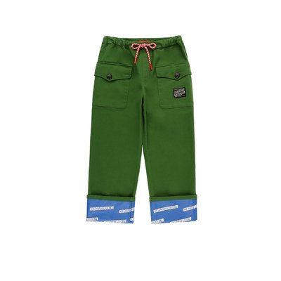 [20% SALE] Ted side pocket roll-up pants