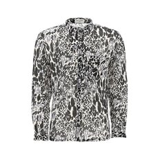 [생로랑] SS20 남성 셔츠 printed cotton blend shirt G_(599291Y1A69 8566)
